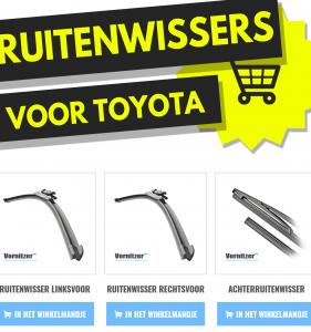 TOYOTA MR2 Ruitenwissers (Wisserbladen)
