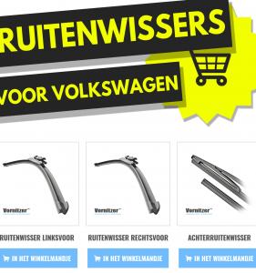 VOLKSWAGEN (VW) AMAROK Ruitenwissers (Wisserbladen)